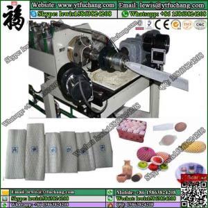 China NET Application and PE Plastic Processed Single extruder foam net making machine LDPE polyethylene Foam Net Extruder wholesale