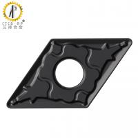 Buy cheap ISO Standard Black CVD Coating DNMG1506 External Turning Carbide Inserts with from wholesalers