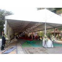China No Gable Outdoor Commercial Party Event Tent Transparent PVC Windows Waterproof wholesale