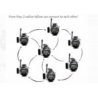 China 150m Long Range Kids Walkie Talkie Watch Multi Connection Lightweight CE Approval wholesale