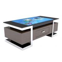 China All In One Multimedia Touch Screen Computer Table For Restaurant / Coffee Shop wholesale