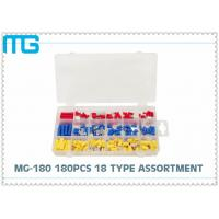 China 65pcs splice type Insulated heart shrink  Terminal Kits Connector, Electrical Crimp Connector Kit wholesale
