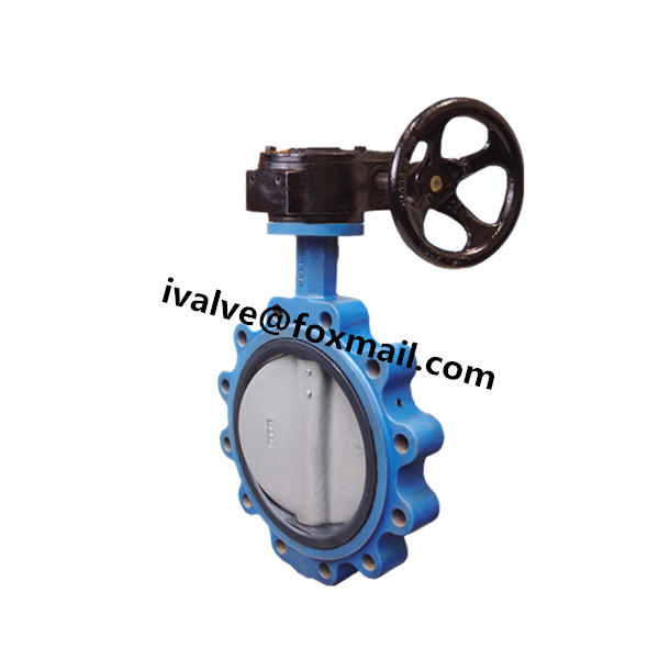 Quality DN250 Gear Operated Lug Type Butterfly Valve for sale