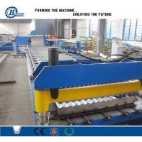 China Metal Corrugated Sheet Cladding Roof Panel Roll Forming Machine With Hydrayulic System wholesale