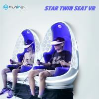 Buy cheap 1920*1135*1910mm 2 Seats 1.2KW 9d Virtual Reality Chair from wholesalers