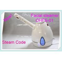 China White Spa Facial Steamer Ohfs-04 , Professional Ozone Hair Steamer At Home wholesale