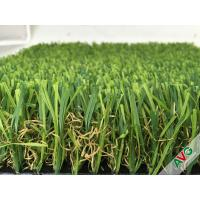 China Ground decorative leisure Outdoor Artificial Grass Carpet / Landscaping fake grass rugs wholesale