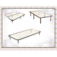 China Wooden Slat Bed Frame 8 Legs Queen/Full/King wholesale
