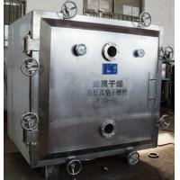 China Solvent Recovery Square Vacuum Drying Equipment FZG Series Static 48 Trays wholesale