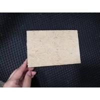 Fast Installation Hard Fiberboard , Low Carbon Plant Fiber Thin Hardboard Sheets