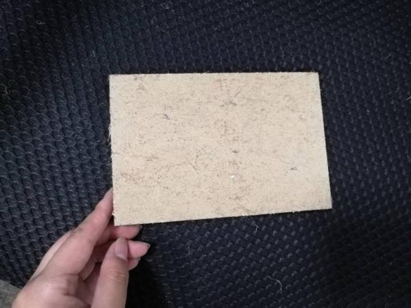 Quality Fast Installation Hard Fiberboard , Low Carbon Plant Fiber Thin Hardboard Sheets for sale