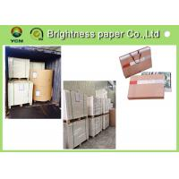 China High Bulk Large Cardboard Sheets , Compressed Paper Board For Making Hangbag on sale