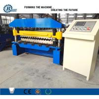 China 988 Corrugated Roofing Sheets Roll Forming Machinery For Steel Structure Roofing wholesale