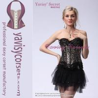 China sexy girdle leopard sexy girls with animal sex gothic corset wholesale