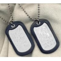 China Dog tags for men and for cheap wholesale