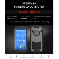 China Rugged PDA Handheld RFID Reader Barcode Scanner Android For Inventory Management wholesale