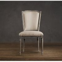 High back dining room chairs/ Vintage French Wooden kitchen dining chairfurniture