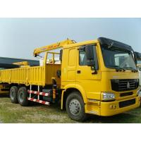 Buy cheap Hydraulic 16 T/16000KG Arm Lorry Mounted Cranes / Knuckle Truck Crane SQ16ZK4Q from wholesalers