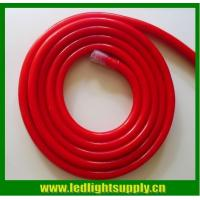 China high lumen red colored jacket bulbs neon light 220v 14x26mm led neon flex rope wholesale