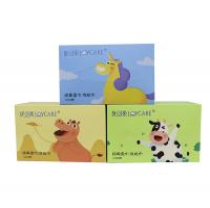 China Fashionable Custome Design Facial Cotton Tissue Wipes Logo Acceptable wholesale