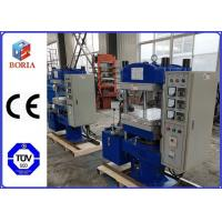 China 2.2kw Manual Type Rubber Vulcanizing Press Machine With Multi Function wholesale
