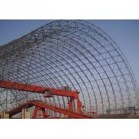 China Large Prefabricated Steel Space Frame Structure / Space Frame Buildings High Strength wholesale