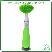 China cleaning brush for face by electric facial brush hot sale in krean beauty brush wholesale