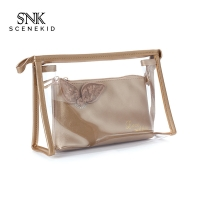 China Eco Friendly Waterproof PVC Transparent Makeup Washing Bags for Travel wholesale