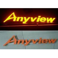 China Front Lit Aluminum / Stainless Steel 3D LED Channel Letter Signs For Lighting Up Store LOGOs wholesale