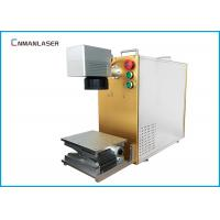 Buy cheap Small Gold Silver Metal Laser Marking Machine / Laser Etching Equipment Free from wholesalers