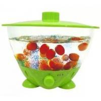 hot sale ultrasonic fruit vegetable washer