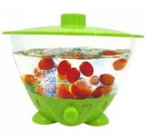 China hot sale ultrasonic fruit vegetable washer wholesale