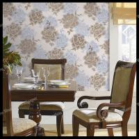 country flowers design pvc wallpaper bedroom decorative vinyl wallpaper