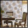 China country flowers design pvc wallpaper bedroom decorative vinyl wallpaper wholesale