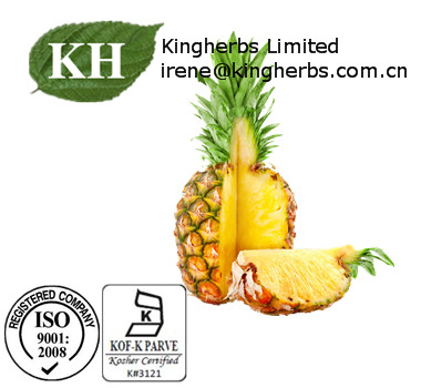 pineapple jelly enzyme lab Bromelain is an enzyme extract first isolation of bromelain was recorded by the venezuelan chemist vicente marcano in 1891 by fermenting the fruit of pineapple.