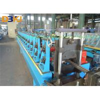 China Gcr15 Steel Solar Frame Metal Forming Machine  Roll Former Machine With Full Automatic Cutting on sale