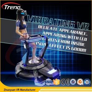 China Roller Coaster Vibration Movement VR Helmet Simulator In Shopping Centre wholesale