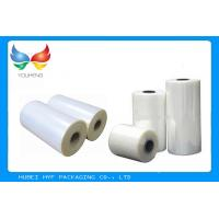 China Shrinkage PVC Plastic Shrink Film Rolls 150-1000mm Width For Bottle Label Printing wholesale