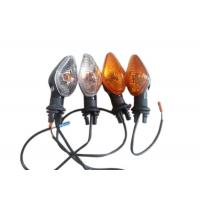 China 2014 Titan150 Motorcycle Winker Light Flasher 12v Class A Orange / White Color wholesale