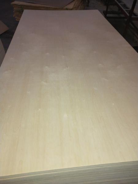 Quality 1220*2440 3mm Laser Grade Birch Plywood Birch Surface Poplar Core Warping Resist for sale