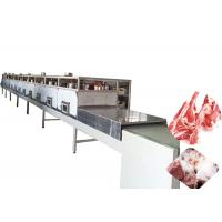 China Industrial Meat Thawing Machine , Microwave Defrosting Machine 1 Year Warranty wholesale