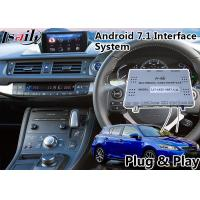 Buy cheap Android 7.1 Navigation Video Interface для 2016-2018 Lexus Knob Control CT 200h from wholesalers