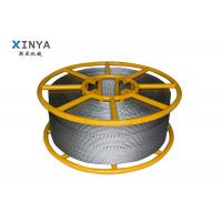 China Hexagon Anti Twisted Pilot Rope Galvanised Steel Wire Rope With 12 Strands on sale