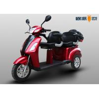 China Double Seat Electric Disabled Scooters For Elderly Adults 25km/h Max Speed wholesale