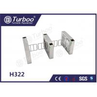 China Access Control Pedestrian Barrier Gate With Voice And Strobe Light Alerts wholesale