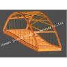China Temporary Steel Box Girder Bridge Rectangular or Trapezoidal in Cross section wholesale