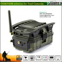 China Hidden Camo MMS Trail Camera For Wildlife Hunting Game, Excellent Quality With SMS Remote Alarm Systerm on sale