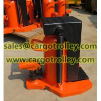 China Hydraulic jack for heavy loads wholesale