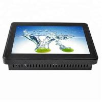 China Dust Proof Touch Screen Kiosk Monitor 55 Inch Complies With HID Equipment Standard on sale