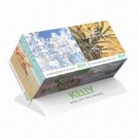 China Promotional Duo Cube Calendar Monthly, Cube Measures 5x5x5cm wholesale